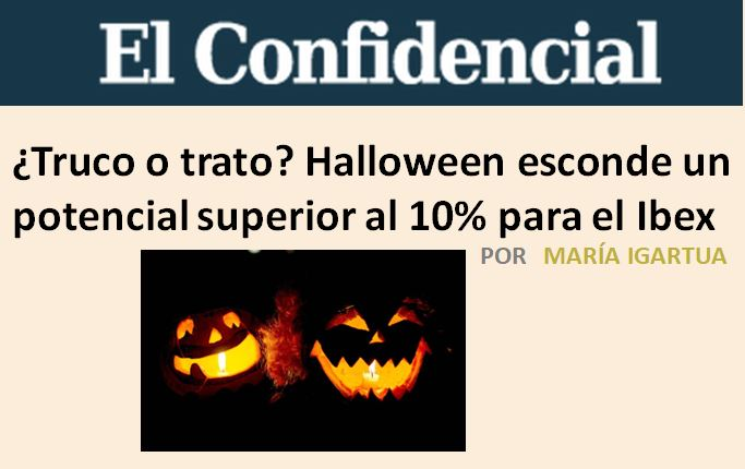 ¿Truco o trato? Halloween esconde un potencial superior al 10% para el Ibex